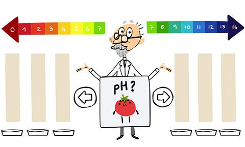 Google-celebra-al-creador-del-Ph-con-este-ingenioso-Doodle