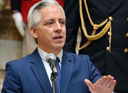 Garcia-Linera,-presidente-en-ejercicio,-afirma-que-los-limites-no-se-negocian-politicamente-
