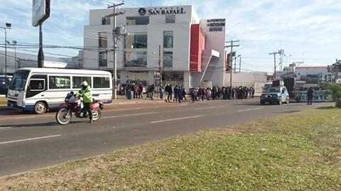 Reportan-que-personal-de-transito-escoltan-la-marcha-de-los-transportistas