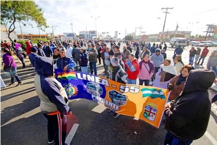 Transportistas-vuelven-a-las-calles,-la-Alcaldia-no-cede-y-les-pide-dialogo
