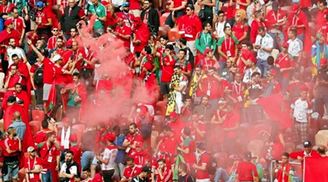Hinchas-de-Marruecos-corearon-a-Cristiano-:--¡Messi!-¡Messi!-