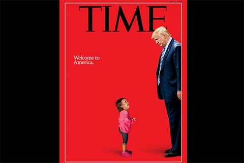 Se-viraliza-portada-de--Time--con-Trump-impidiendo-el-paso-de-una-nina-migrante