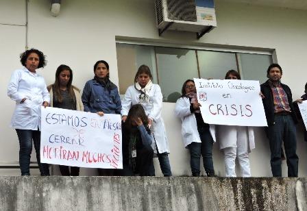 Crisis-en-el-Oncologico,-en-riesgo-de-cierre-dos-servicios
