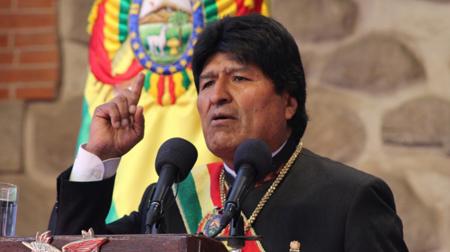 Evo-brinda-su-mensaje-a-la-nacion-en-medio-de-gritos-y-consignas-del--Bolivia-dijo-No-