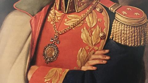 Mesa-sobre-la-medalla-presidencial:-ni-la-peor-dictadura-puso-en-riesgo-el-legado-de-Bolivar