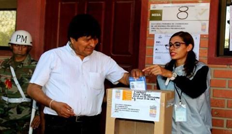 Evo-llama-a-la-poblacion-a-participar-en-las-elecciones-de-forma-pacifica