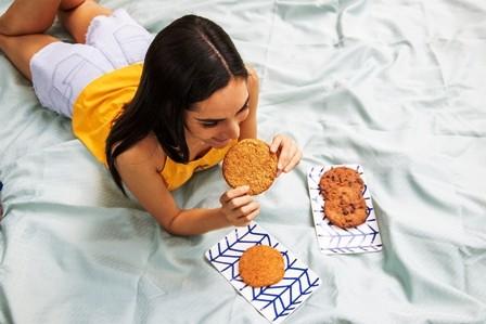 Coco-y-avena-en-una-rica-galleta
