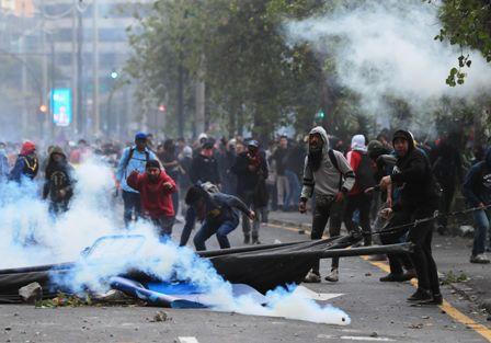 Mas-de-300-detenidos-en-Ecuador,-estado-de-excepcion-no-mengua-las-protestas-en-dos-dias