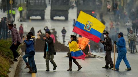 Protestas-generan-efecto-en-la-economia-ecuatoriana