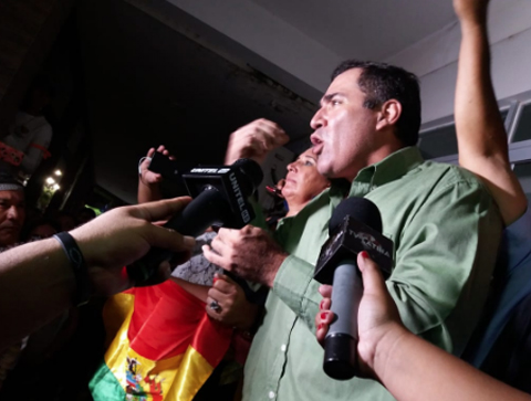 Posesionan a Miguel Ángel Hurtado como alcalde interino de Montero