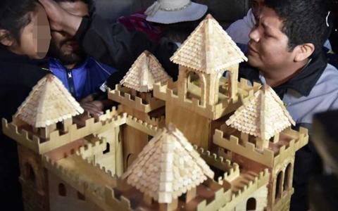 Franclin Gutiérrez dejó la cárcel y le regaló un 'castillo' a su hija