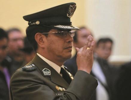 Nuevo comandante al frente de la Policía boliviana