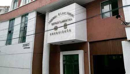 Tribunal Electoral de Chuquisaca reabre sus oficinas
