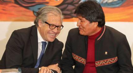 Almagro: Morales 'tiró por la borda' su 'inmenso legado político'