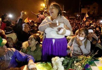 Defensoría: Cifra de muertos sube de 5 a 9 en Sacaba