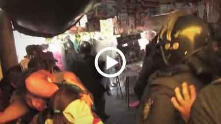 Evo-usa-imagenes-de-una-represion-en-Mexico-para-sostener-que-hay-golpe-en-Bolivia