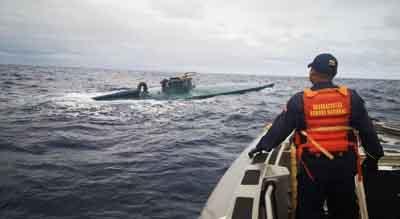 Descubren-submarino-con-miles-de-kilos-de-cocaina-en-Espana