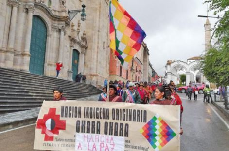 Nación Qhara Qhara a Evo: 'Deja de enviar indígenas como carne de cañón para tus intereses'