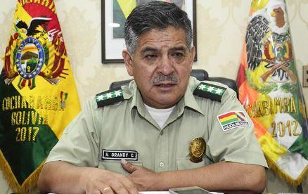 Tras-motin,-destituyen-al-Comandante-de-la-Policia-de-Cochabamba