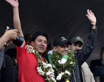 El FPV ofrece su sigla para el binomio Camacho y Pumari