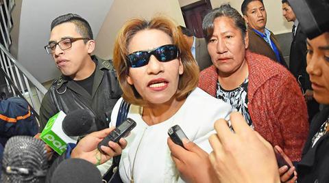 Sentencian a 3 años y 5 meses de cárcel a exjueza Pacajes