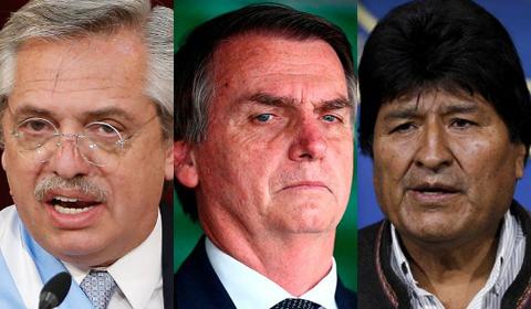 Bolsonaro-cuestiono-a-Fernandez-por-refugiar-a-Morales