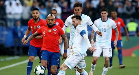 Argentina-Chile,-el-partido-inaugural-de-la-Copa-America-2020