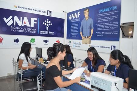Estudiantes-de-la-UPDS-sede-Santa-Cruz-destacan-su-participacion-en-el-NAF-del-SIN