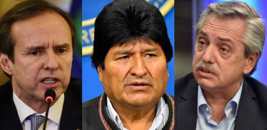 Tuto Quiroga advierte a Fernández que Morales será un 'invitado tóxico'