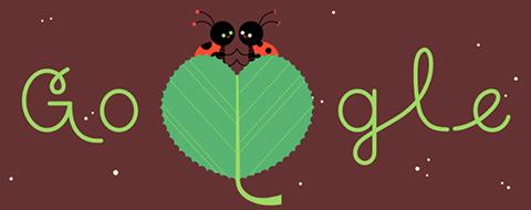 Google celebra el día de los enamorados con un 'doodle'