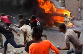Violenta-escalada-en-Haiti,-manifestantes-piden-la-renuncia-de-su-Presidente