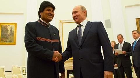 Morales-recibe-una-invitacion-de-Putin-para-una-visita-oficial-a-Rusia