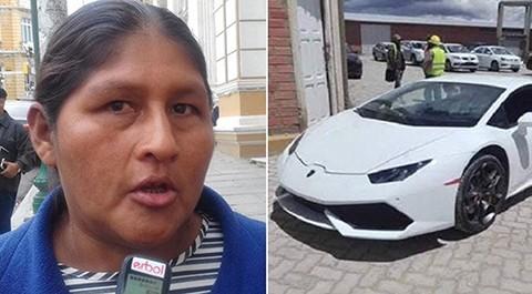 Diputada-del-MAS:--Con-nuestro-trabajo-podemos-comprarnos--un-Lamborghini