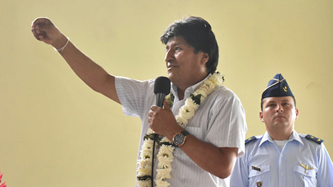 Morales afirma que el 21F quedó enterrado con las primarias y la visita de la CIDH