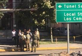 Policia-chilena-descarta-presencia-de-explosivos-en-consulado-de-Bolivia-en-Chile