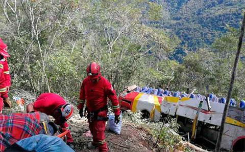 SOAT-destina-Bs-1-millon-para-cubrir-el-accidente-en-la-carretera-a-Yungas