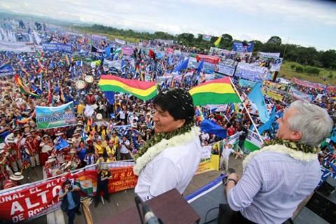 El-MAS-justifica-el-uso-del-Aeropuerto-de-Chimore-para-su-campana;-la-oposicion-denunciara-a-Morales