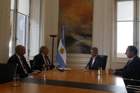 Almagro-se-reunio-con-altos-funcionarios-del-Gobierno-argentino-y-hablo-sobre-Bolivia