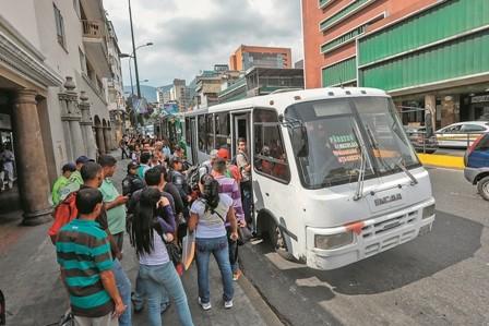 Protestas-por-la-escasez-en-Venezuela