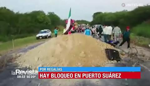Puerto-Suarez-bloquea-la-carretera-bioceanica-exigiendo-pago-de-regalias