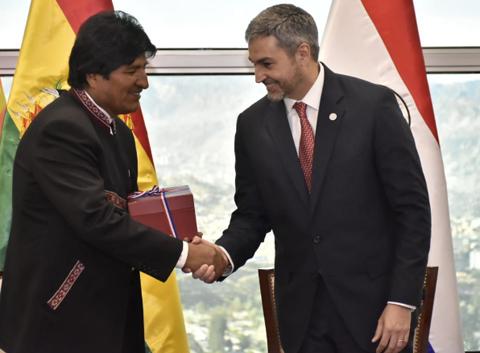 Bolivia-y-Paraguay-fortalecen-integracion-para-sus-pueblos