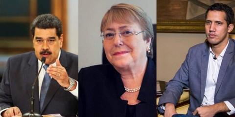 Bachelet-visitara-Venezuela-para-reunirse-con-Maduro-y-Guaido