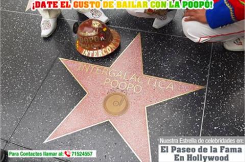 Director de la banda Poopó aclara que la estrella que recibió no está en Hollywood, sino en Santa Ana, California
