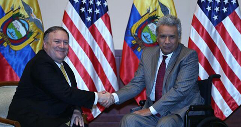 El-presidente-de-Ecuador-recibe-al-secretario-de-Estado-de-EEUU-en-Guayaquil