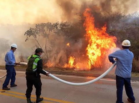 Desplazan-550-policias-a-la-Chiquitania-para-combatir-incendios