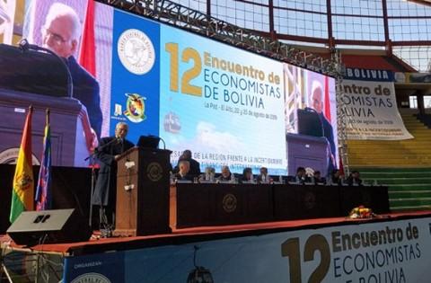 Se-realiza-el-XII-Encuentro-de-Economistas-del-BCB
