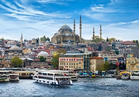 Estambul-el-emblema-de-Turquia-
