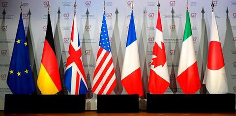 El-G7-inaugura--su-45-cumbre-anual-con-una-cena-de-trabajo