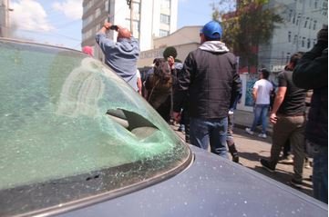 Pese-a-la-violencia-de-choferes,-se-inauguro-al-ruta-del-PumaKatari-en-Achumani