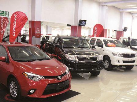 Venta de vehículos crece un 14% hasta julio